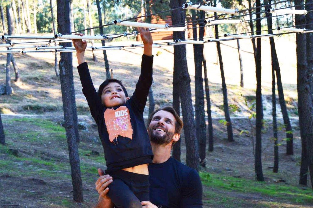 SCORNIO: Pai e Filho em obstáculo Diverlanhoso
